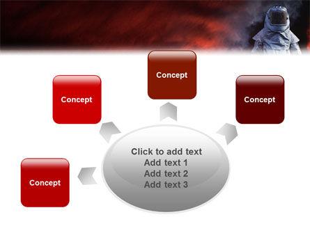 Deep Fire PowerPoint Template Slide 7