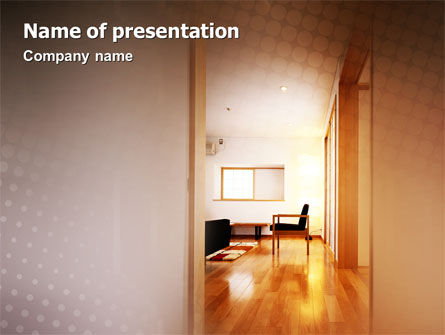 Careers/Industry: Apartment Design PowerPoint Template #02035
