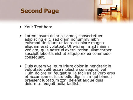 Apartment Design PowerPoint Template Slide 2