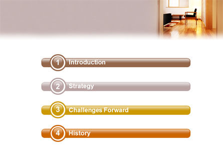 Apartment Design PowerPoint Template Slide 3