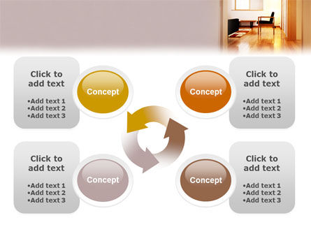 Apartment Design PowerPoint Template Slide 9