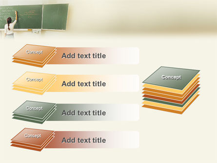 Education In College PowerPoint Template Slide 11