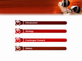 Fencing PowerPoint Template#3