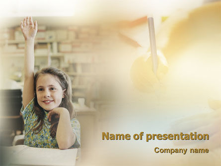 Pupil PowerPoint Template
