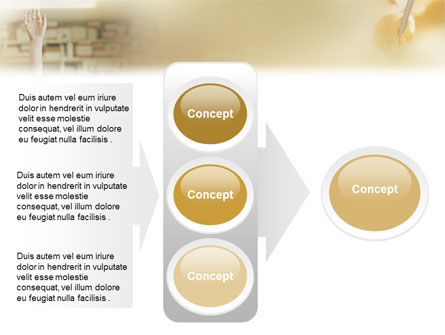 Pupil PowerPoint Template Slide 11