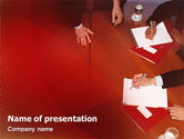 Business: Briefing PowerPoint Template #02048