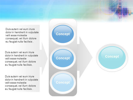 Internet Space PowerPoint Template Slide 11