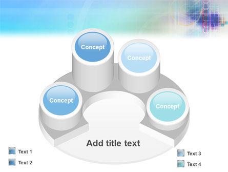 Internet Space PowerPoint Template Slide 12