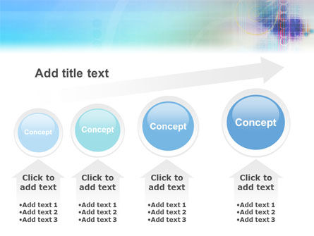 Internet Space PowerPoint Template Slide 13