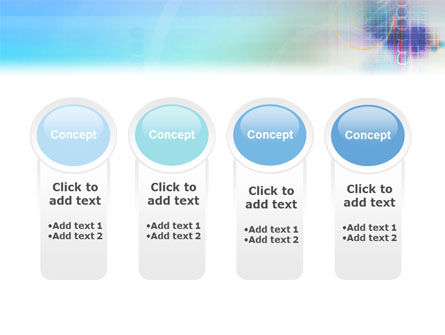 Internet Space PowerPoint Template Slide 5