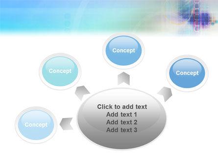 Internet Space PowerPoint Template Slide 7