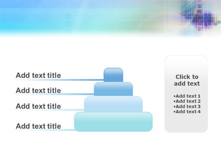 Internet Space PowerPoint Template Slide 8