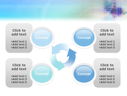 Internet Space PowerPoint Template Slide 9