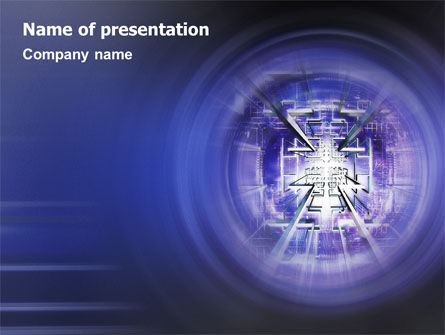 Technology and Science: Telecommunication Lines PowerPoint Template #02059