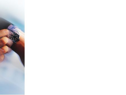 Hand Watch PowerPoint Template, Slide 3, 02060, Business Concepts — PoweredTemplate.com