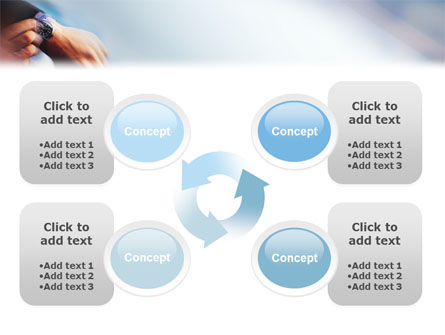 Hand Watch PowerPoint Template Slide 9