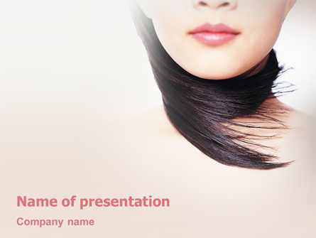 Beauty PowerPoint Template, 02061, Careers/Industry — PoweredTemplate.com
