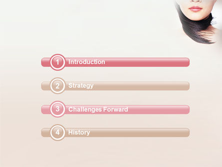Beauty PowerPoint Template, Slide 3, 02061, Careers/Industry — PoweredTemplate.com