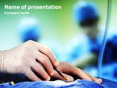 Medical: Plantilla de PowerPoint - cirugía urgente #02063