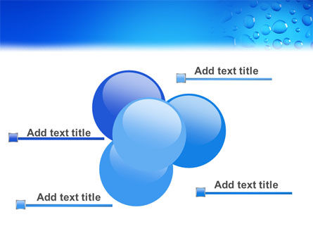 Drops PowerPoint Template Slide 10