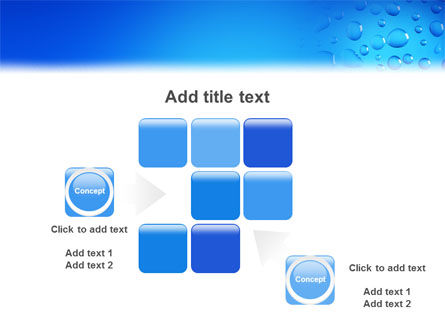 Drops PowerPoint Template Slide 16