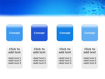 Drops PowerPoint Template Slide 5