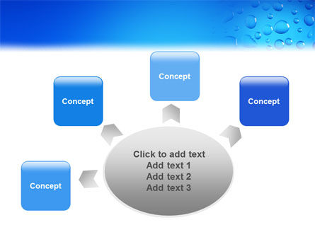 Drops PowerPoint Template Slide 7