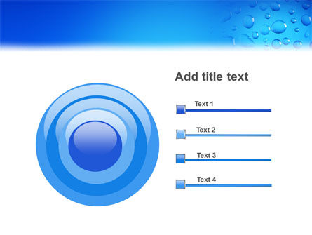 Drops PowerPoint Template Slide 9