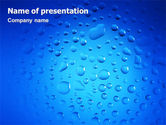 Abstract/Textures: Drops PowerPoint Template #02066