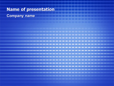 Perforation Pattern PowerPoint Template, 02068, Abstract/Textures — PoweredTemplate.com