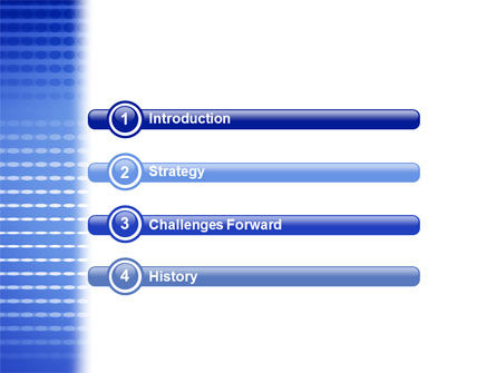 Perforation Pattern PowerPoint Template Slide 3