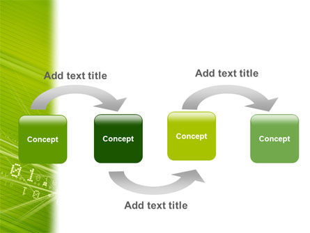 Binary Green PowerPoint Template, Backgrounds | 02070 ...