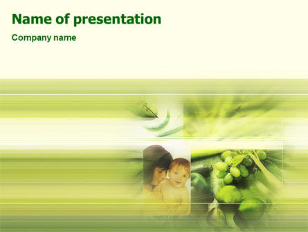 Food & Beverage: Health Life PowerPoint Template #02071