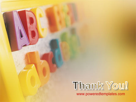 ABC Letters PowerPoint Template Slide 20