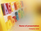 Education & Training: ABC Letters PowerPoint Template #02072