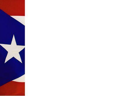 Flag of Puerto Rico PowerPoint Template, Slide 3, 02074, Flags/International — PoweredTemplate.com