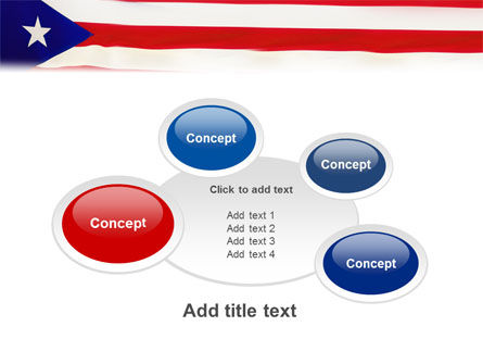 Flag of Puerto Rico PowerPoint Template Slide 16