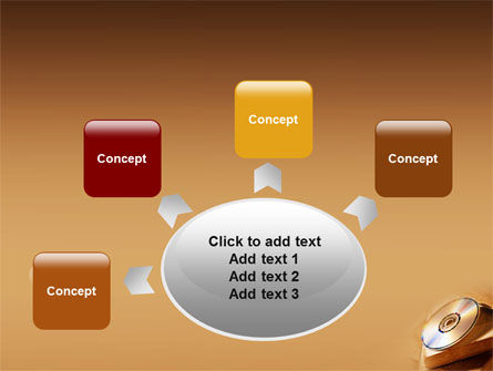 CD Disc PowerPoint Template Slide 7