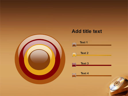CD Disc PowerPoint Template Slide 9