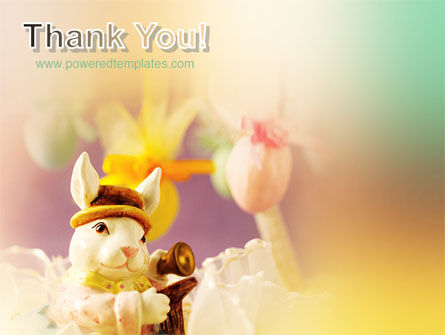 Easter Rabbit PowerPoint Template Slide 20