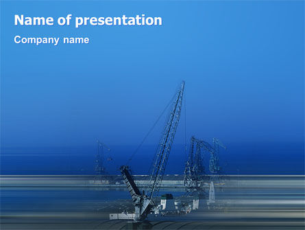 Utilities/Industrial: Haven PowerPoint Template #02081