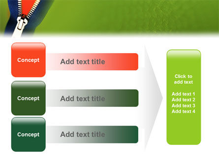 Zipper PowerPoint Template Slide 12
