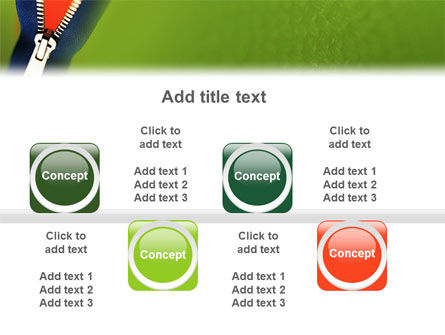 Zipper PowerPoint Template Slide 19