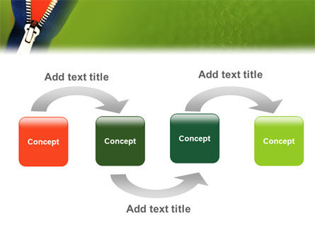 Zipper PowerPoint Template, Slide 4, 02082, Careers/Industry — PoweredTemplate.com