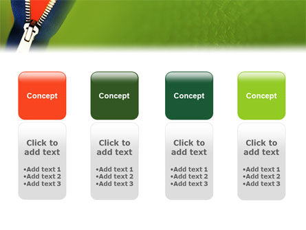 Zipper PowerPoint Template Slide 5