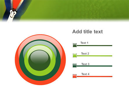 Zipper PowerPoint Template Slide 9