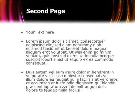 Whirlpool PowerPoint Template, Slide 2, 02087, Abstract/Textures — PoweredTemplate.com