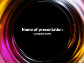 Abstract/Textures: Whirlpool PowerPoint Template #02087