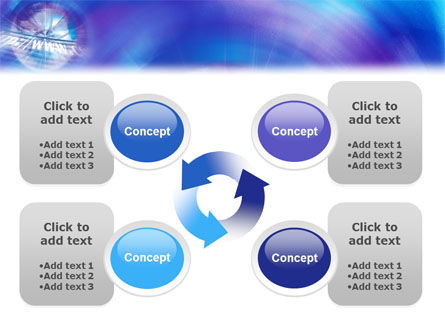 Web Hosting PowerPoint Template Slide 9