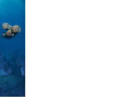 Fishing Life Underwater PowerPoint Template, Slide 3, 02089, Nature & Environment — PoweredTemplate.com